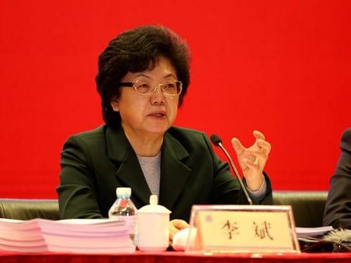 Выступление Ли Бинь – директор центра национального здоровья и планирования семьи